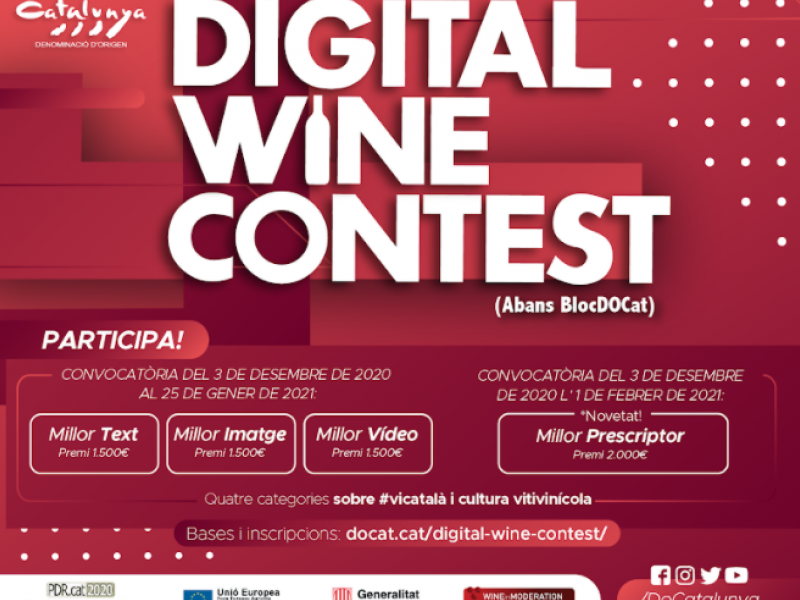 7è Concurs Digital Wine Contest DO Catalunya (1)
