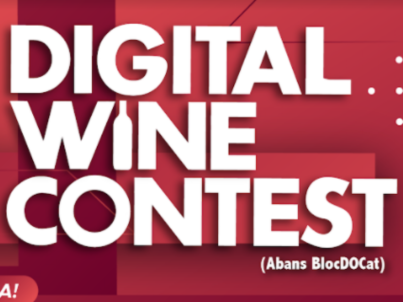 7è Concurs Digital Wine Contest DO Catalunya